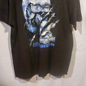 JURASSIK WORLD Shirts - Jurassic World T-REX  MENS T-SHIRT BLACK  X-LARGE